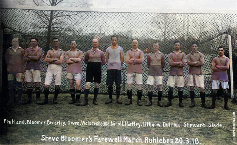 Bloomer's Farewell Match 1